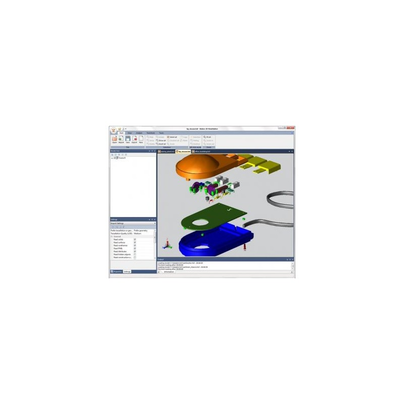 Option Export : 3D Viewer Station